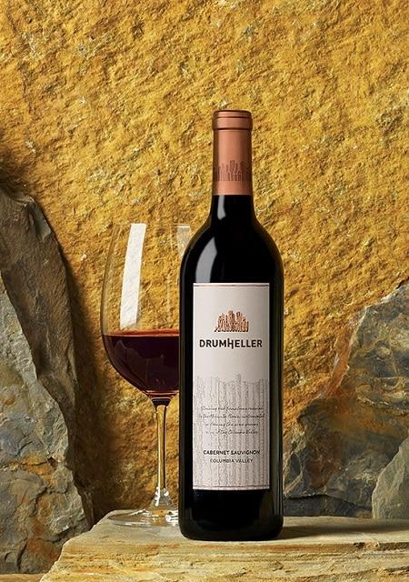 Washington wine offer bottle Drumheller 2016 Cab